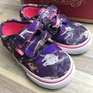 NWT VANS Atwood V Canvas CatDog Kid's AUTHENTIC